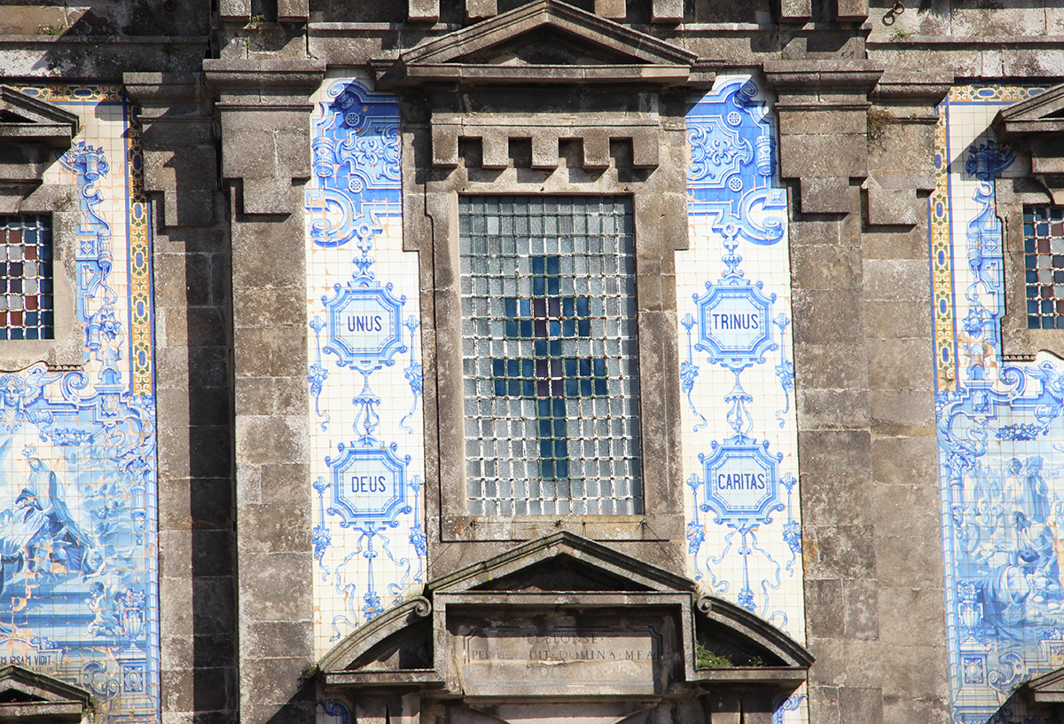 Azulejos church